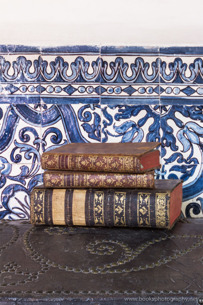 Books and Azulejos