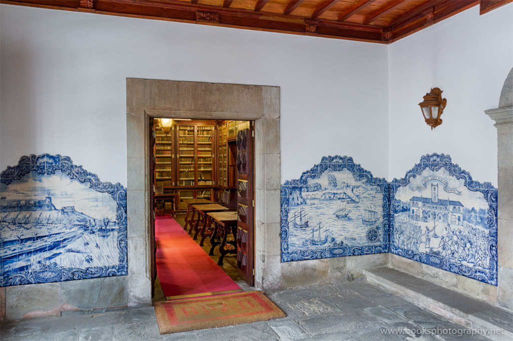 Books and Azulejos (3rd image)